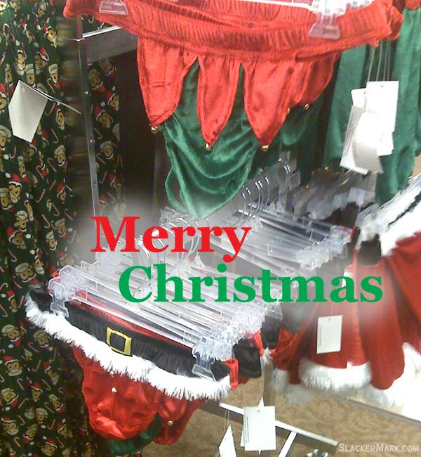 Merry Christmas Underware